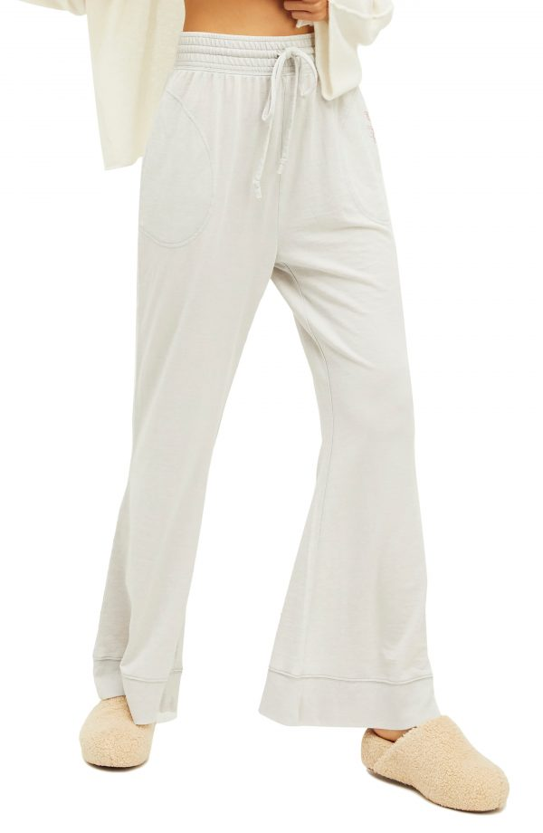 Women's Free People Cozy Cool Lounge Pants, Size X-Small - Grey