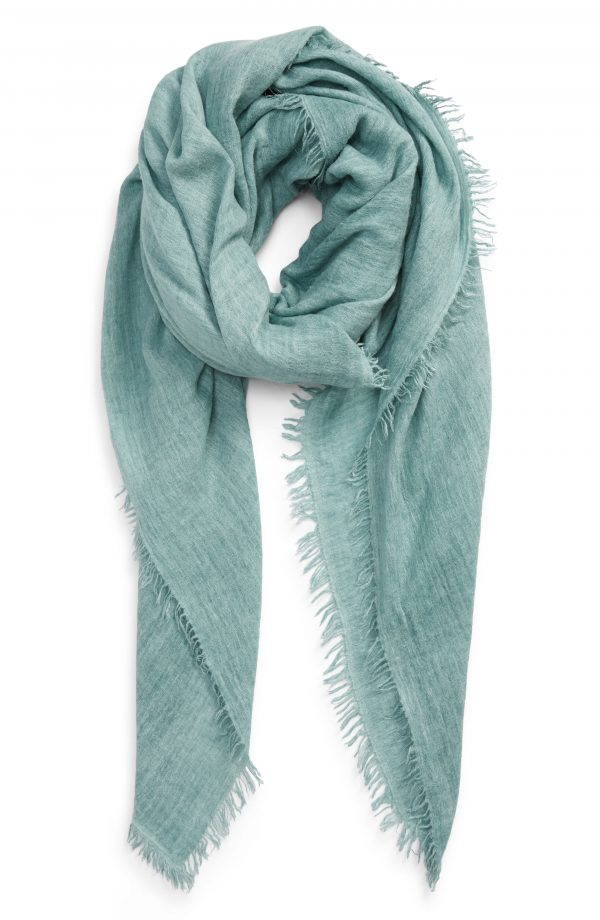 Women's Free People Sun Washed Travel Scarf, Size One Size - Blue