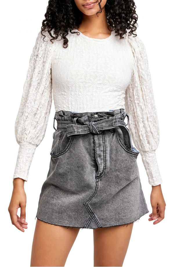 Women's Free People Tea Time Top, Size X-Small - White