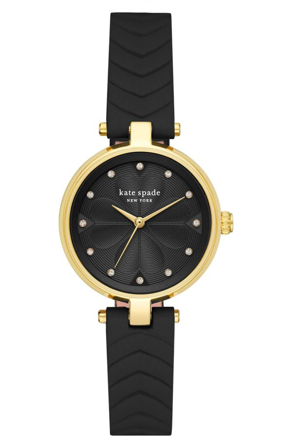 Women's Kate Spade New York Annadale Leather Strap Watch, 30mm