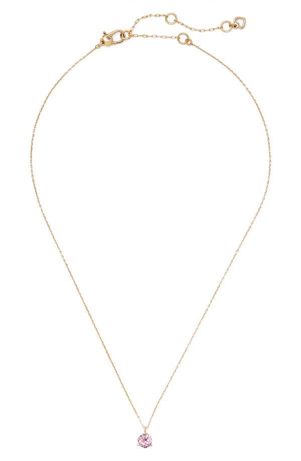 Women's Kate Spade New York Brilliant Statements Cubic Zirconia Pendant Necklace