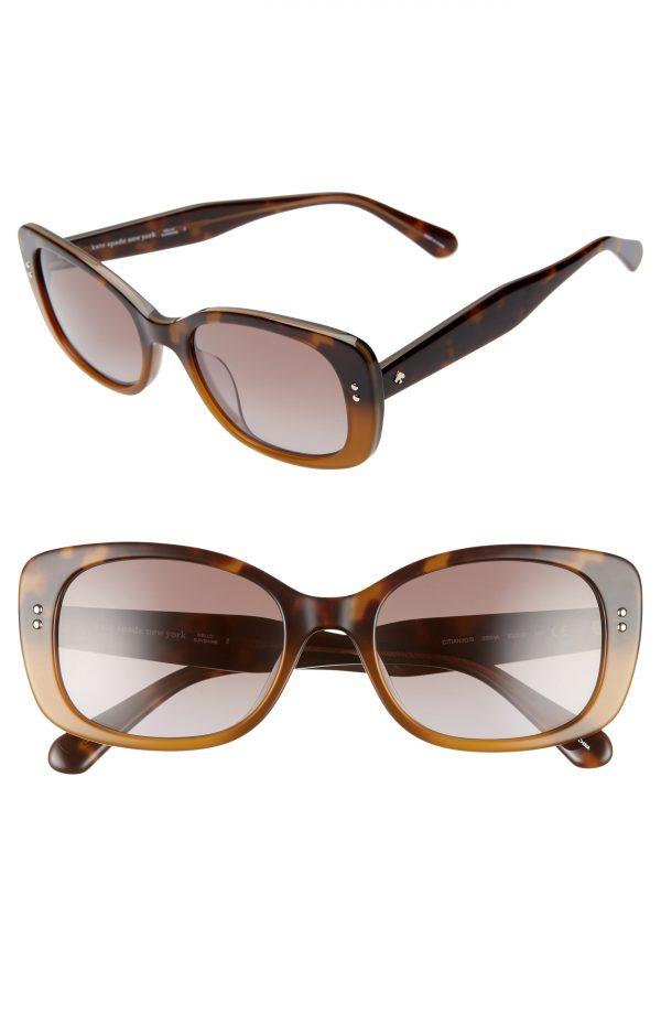 Women's Kate Spade New York Citianigs 53mm Sunglasses - Dark Havana