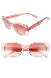 Women's Kate Spade New York Citianigs 53mm Sunglasses - Pink
