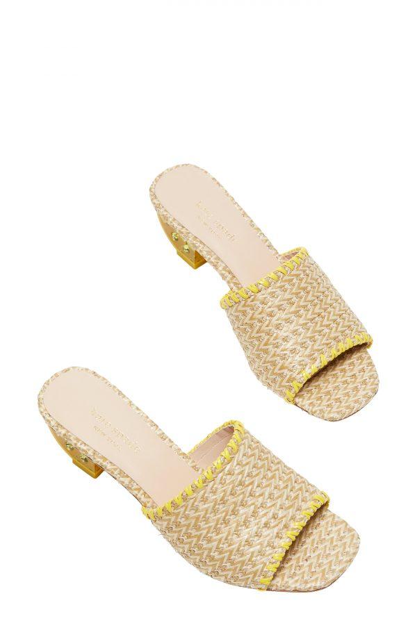 Women's Kate Spade New York Citrus Slide Sandal, Size 10 M - Beige