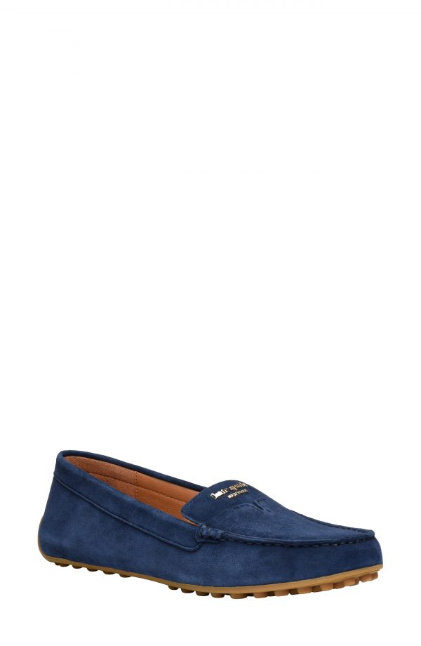 Women's Kate Spade New York Deck Driving Loafer, Size 5 B - Blue