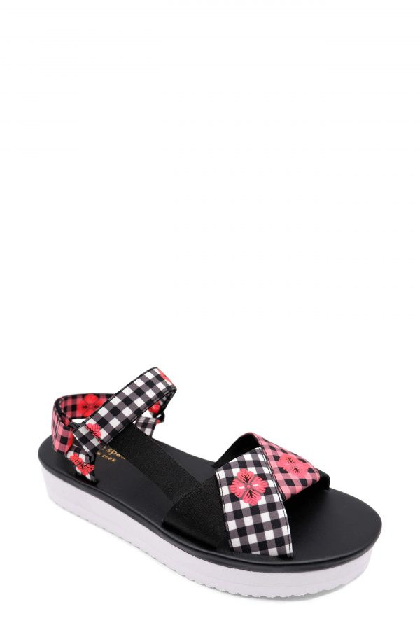 Women's Kate Spade New York Dotty Sandal, Size 6.5 M - Black