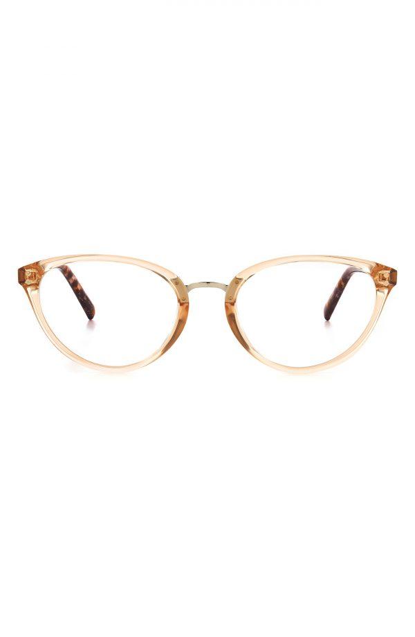 Women's Kate Spade New York Emilia 52mm Blue Light Blocking Reading Glasses - Crystal Beige