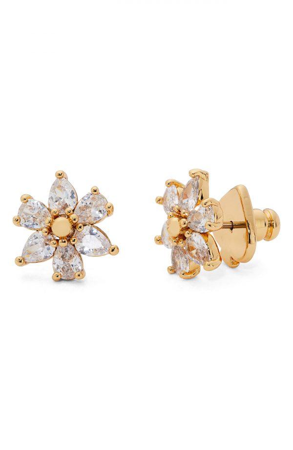 Women's Kate Spade New York First Bloom Cubic Zirconia Stud Earrings