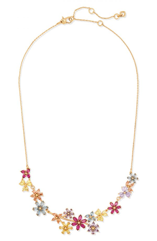 Women's Kate Spade New York First Bloom Floral Bib Necklace