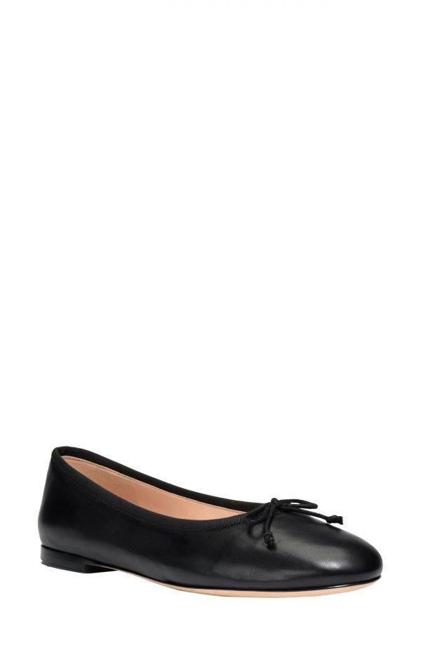 Women's Kate Spade New York Honey Ballet Flat, Size 9 B - Black
