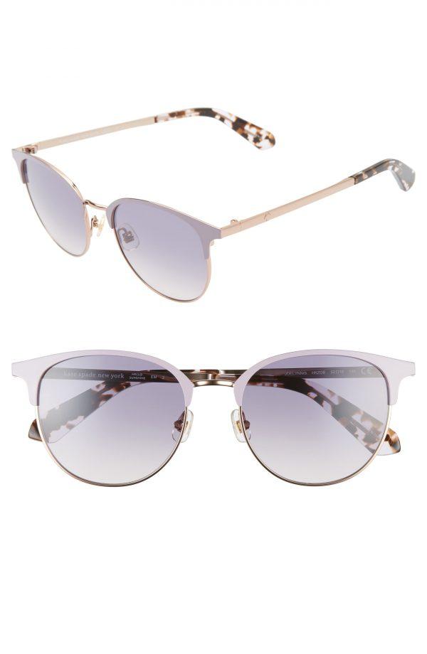 Women's Kate Spade New York Joelynn 52mm Sunglasses - Violet/ Havana