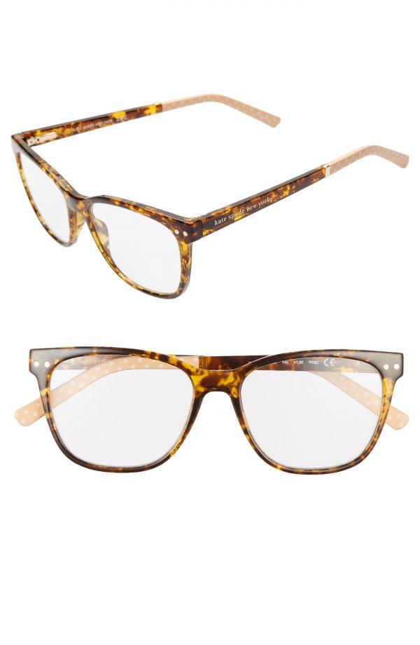 Women's Kate Spade New York Joyanne 52mm Reading Glasses - Dark Havana