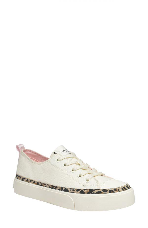 Women's Kate Spade New York Kaia Platform Sneaker, Size 5 B - Beige