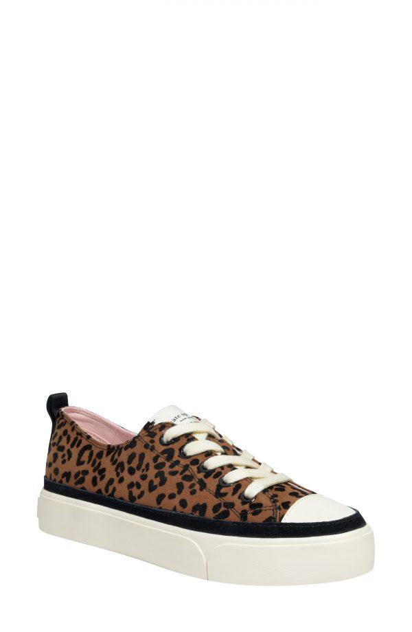 Women's Kate Spade New York Kaia Platform Sneaker, Size 6.5 B - Brown