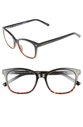Women's Kate Spade New York Keadra 51mm Reading Glasses - Black Havana