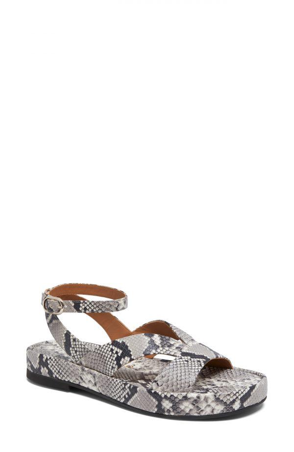 Women's Kate Spade New York Marshmallow Platform Sandal, Size 9 M - Grey