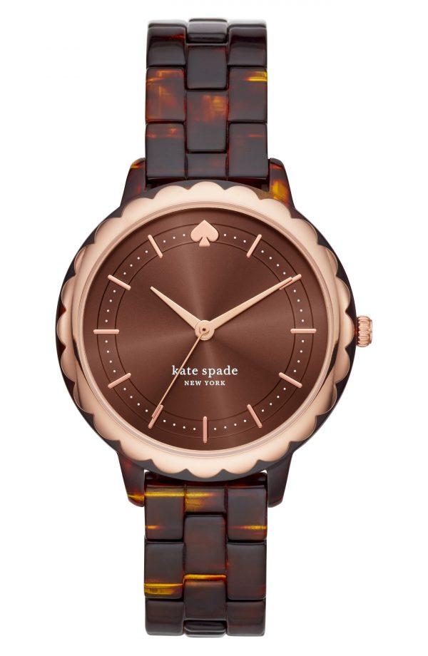 Women's Kate Spade New York Morningside Acetate Bracelet Watch, 38mm