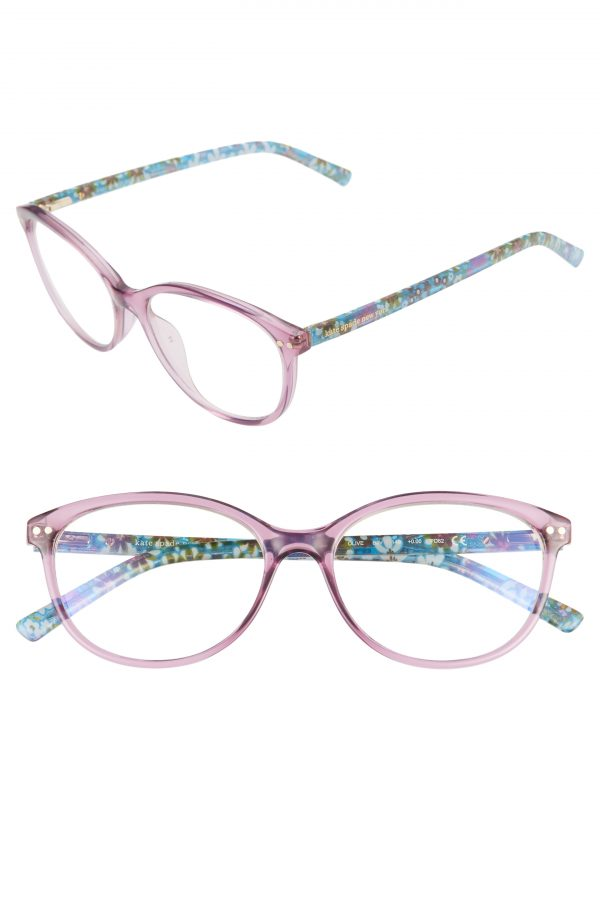 Women's Kate Spade New York Olive 53mm Reading Glasses - Violet