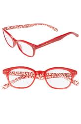 Women's Kate Spade New York Rebecca 47mm Reading Glasses - Red