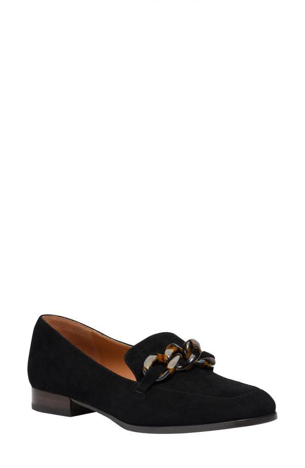 Women's Kate Spade New York Rowan Loafer, Size 5.5 B - Black