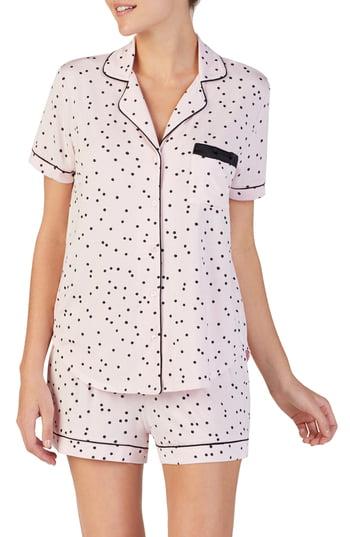 Women's Kate Spade New York Short Pajamas, Size Large - Pink
