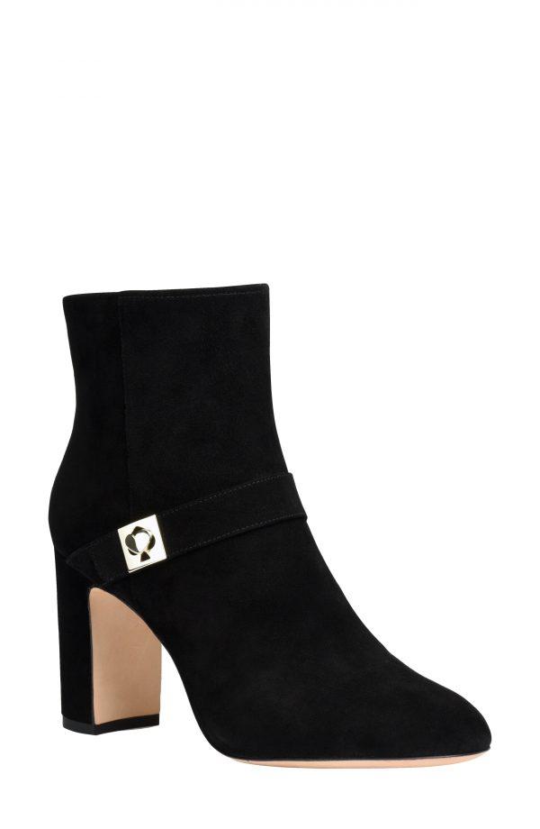 Women's Kate Spade New York Thatcher Bootie, Size 9.5 B - Black