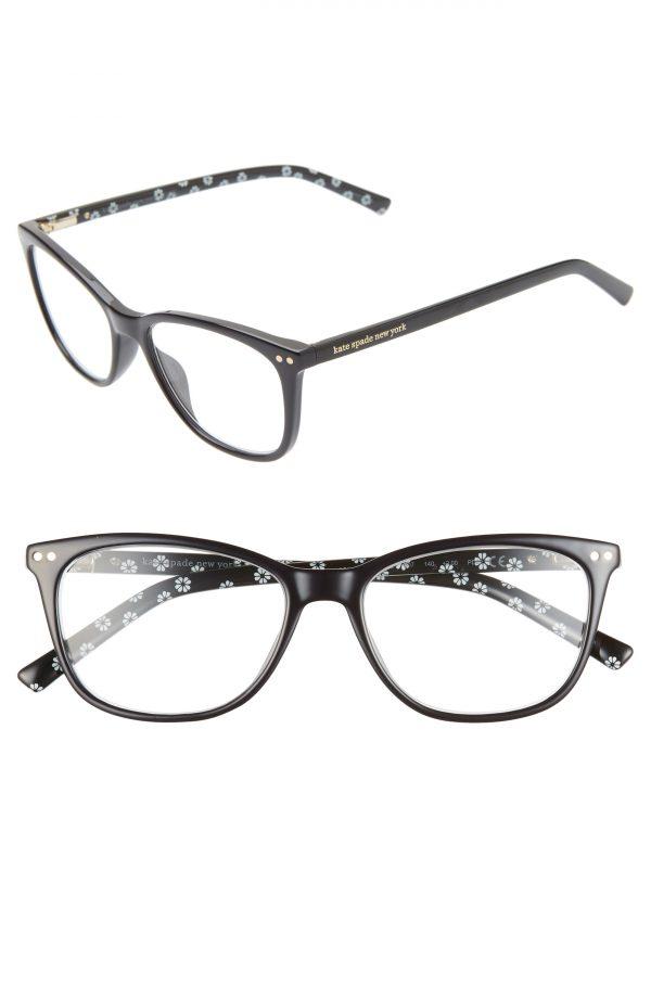 Women's Kate Spade New York Tinlee 52mm Reading Glasses - Black