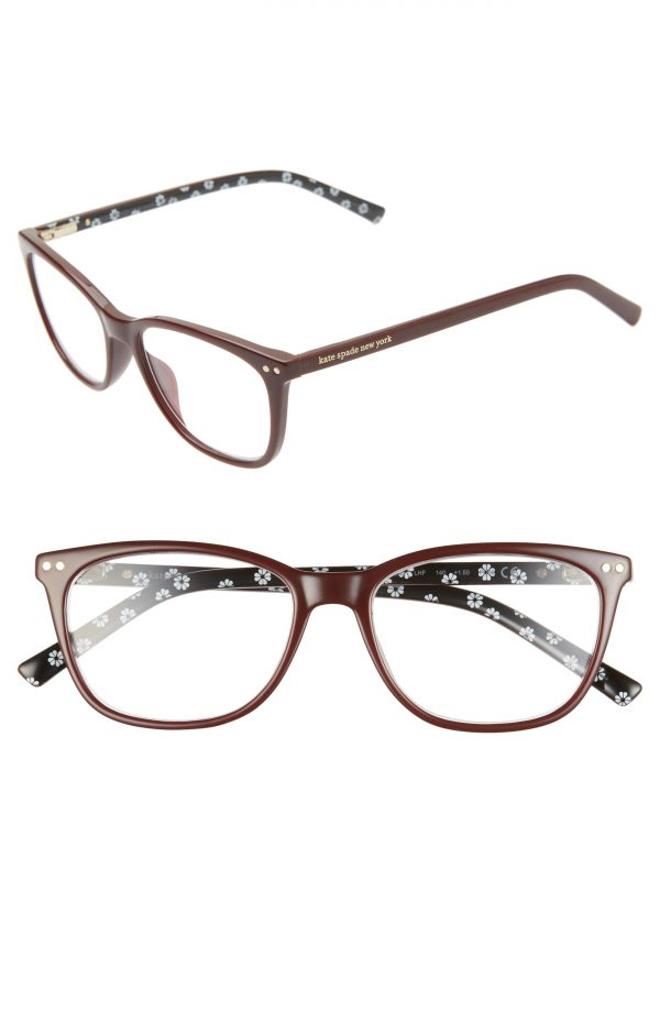 Women's Kate Spade New York Tinlee 52mm Reading Glasses - Burgundy