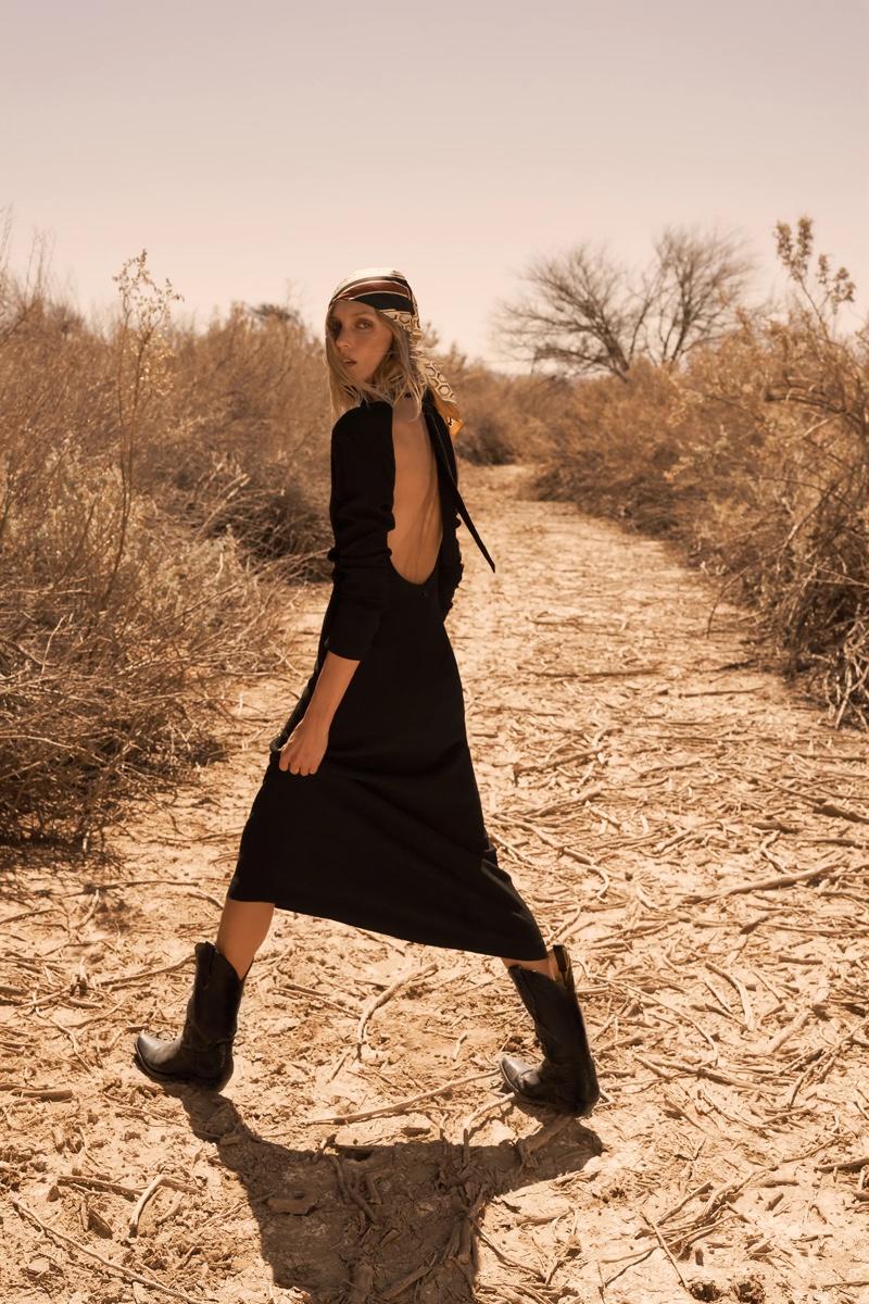 Zara Open Back Limited Edition Dress.