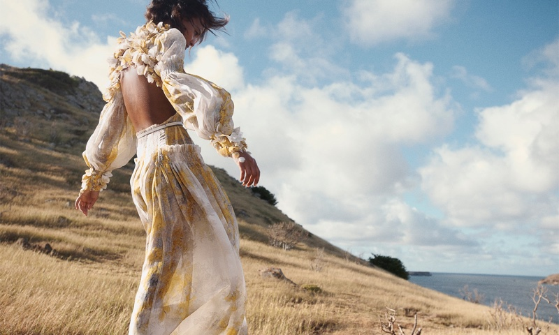 Zimmermann sets spring 2021 campaign in  St. Barts.