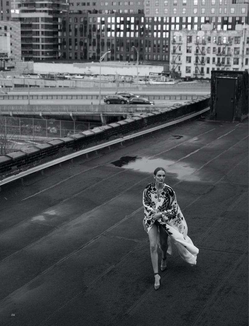 Zuzanna Bijoch Graces the Pages of Harper's Bazaar Kazakhstan