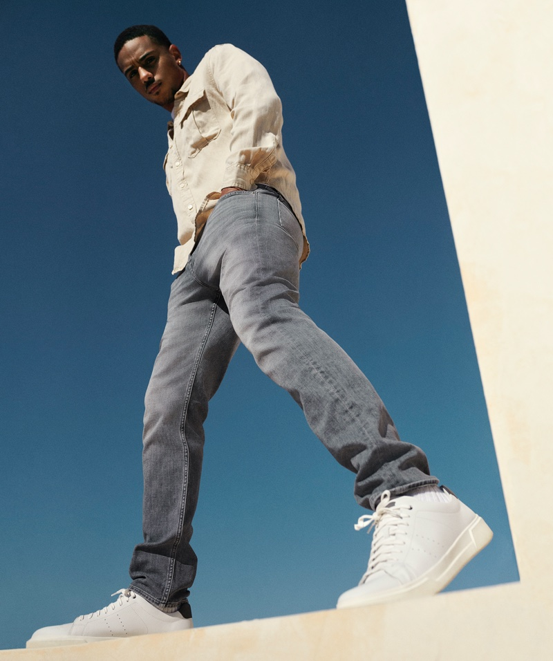 7 For All Mankind spring-summer 2021 campaign.