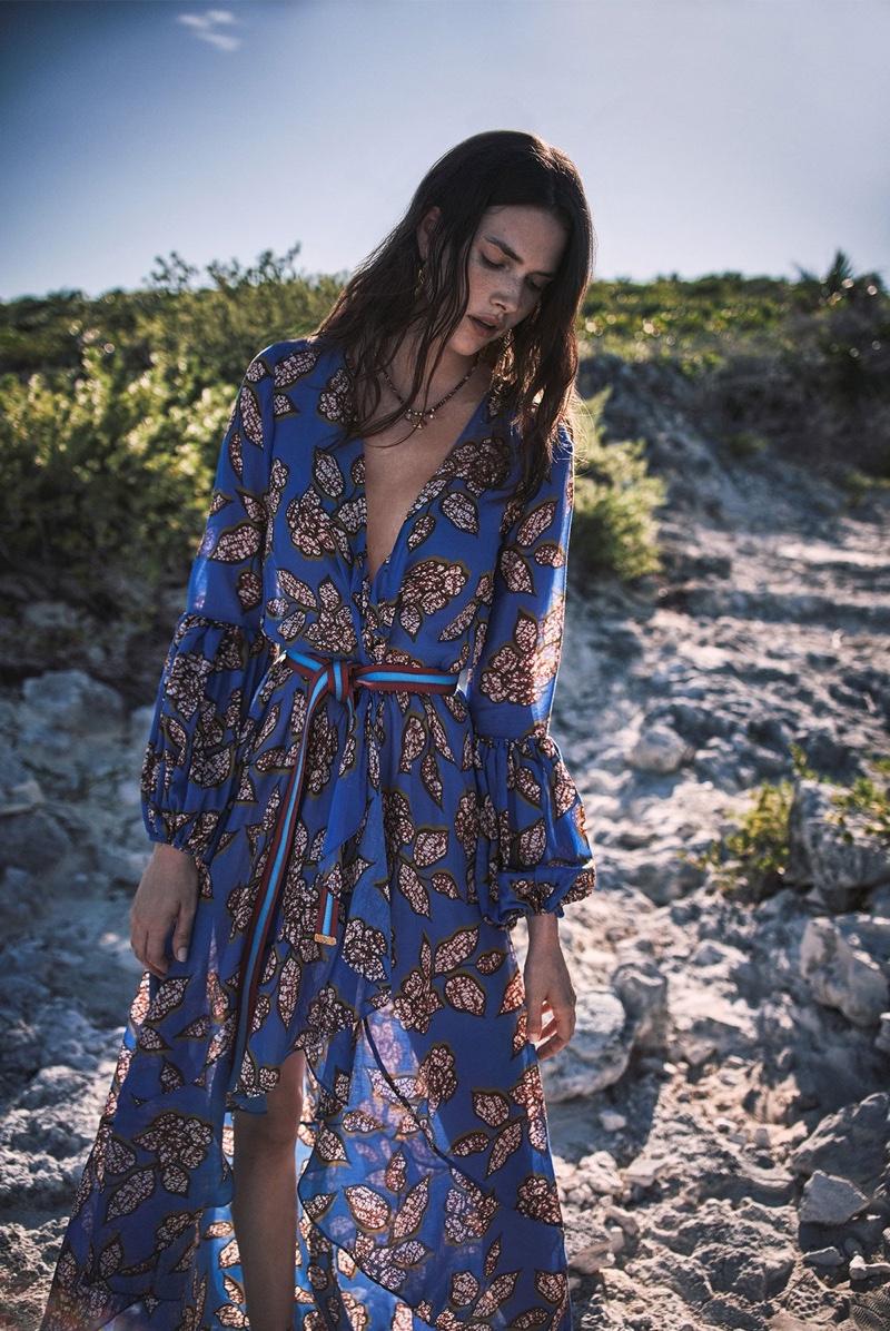 Alexis features Livana dress in Eternal Affair collection.