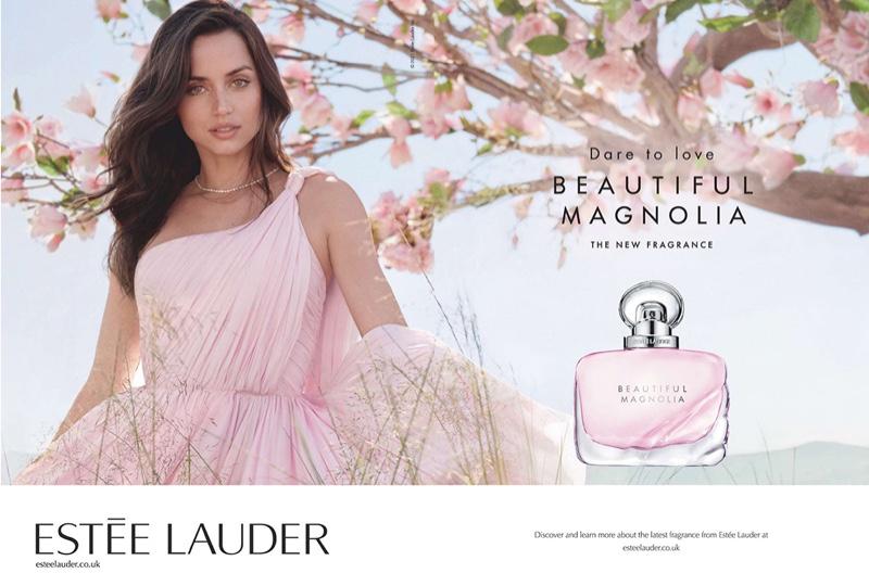 Estee Lauder unveils Beautiful Magnolia fragrance campaign with Ana de Armas.