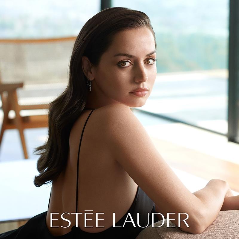 Actress Ana de Armas becomes Estee Lauder global ambassador.