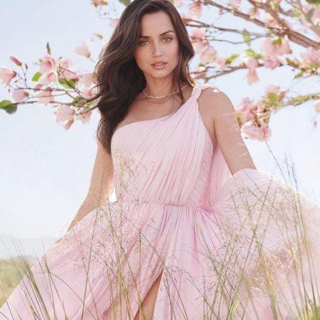 Ana de Armas stars in Estee Lauder Beautiful Magnolia fragrance campaign.
