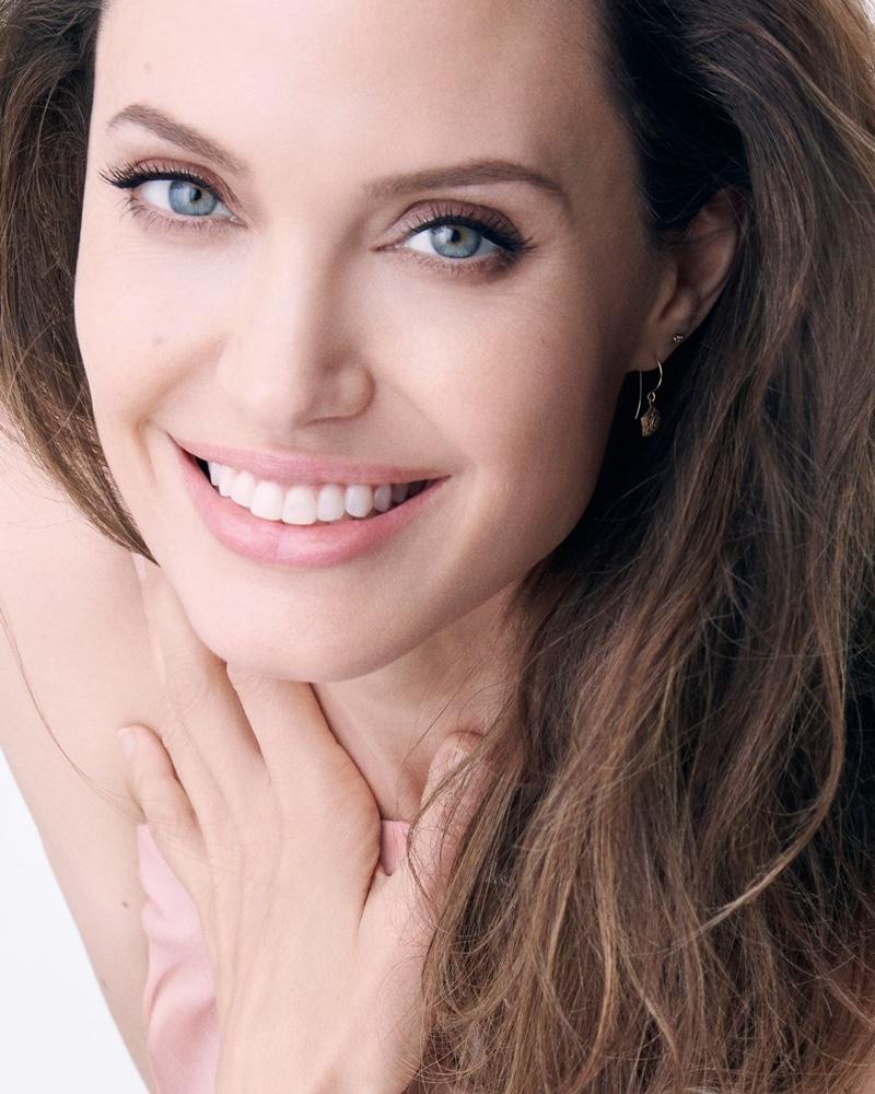 Angelina Jolie stars in Guerlain Mon Guerlain Sparkling Bouquet fragrance campaign.