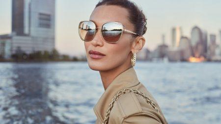 Michael Kors unveils spring-summer 2021 eyewear campaign.