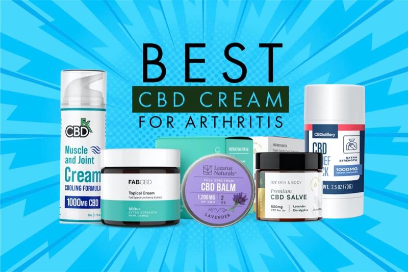 Best CBD cream for arthritis