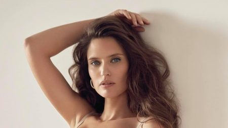 Bianca Balti Smolders in Yamamay Lingerie Spring 2021 Campaign