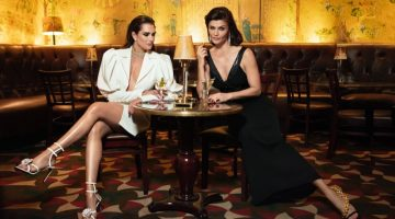 Brooke & Helena Exude Glamour in L'Officiel Italia Cover Story
