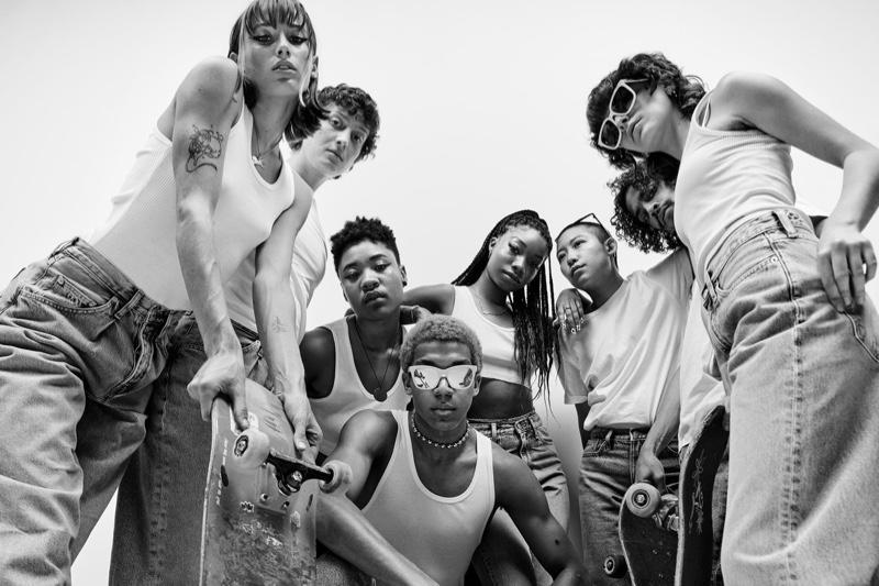 Queer Skate LA stars in Calvin Klein spring 2021 campaign.