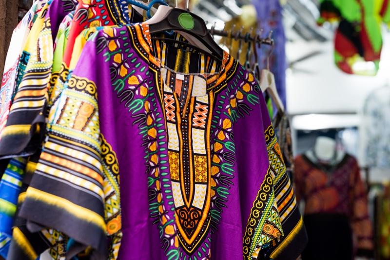 Closeup Dashiki Market