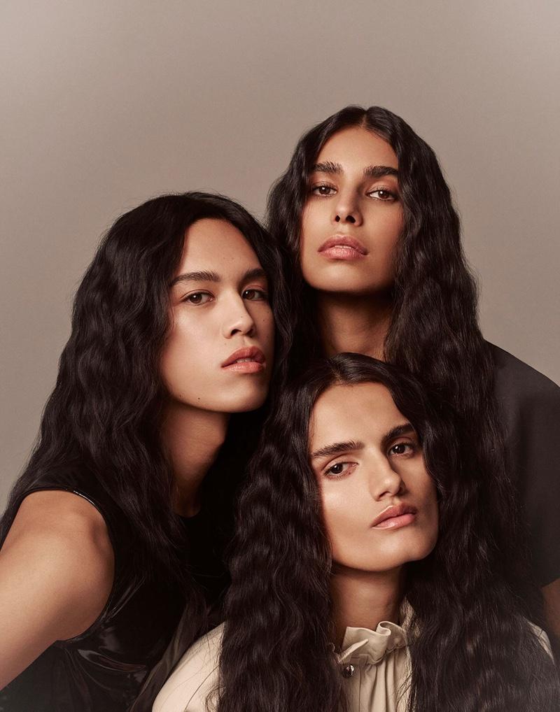 Dara, Anisha, Dipti Wear Marvelous Hairstyles for The WOW Magazine