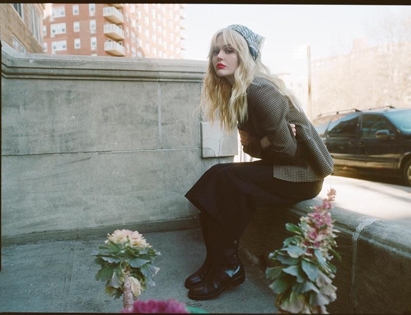 Emily Alyn Lind. Photo: Lucas Garrido / Harper's Bazaar US