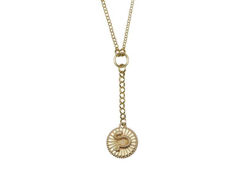 Foundrae Medallion Necklace