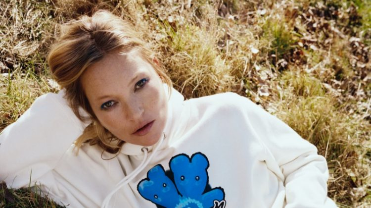 Kate Moss stars in HEAVEN by Marc Jacobs spring-summer 2021 campaign.