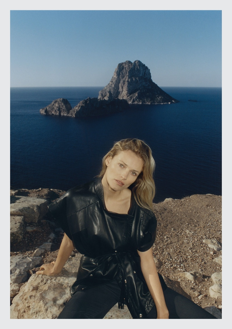IRO sets spring-summer 2021 campaign in Ibiza, Spain.