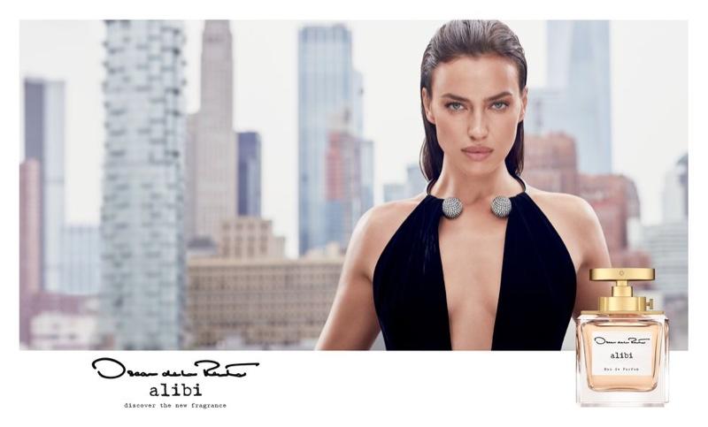 Oscar de la Renta unveils Alibi eau de parfum campaign.