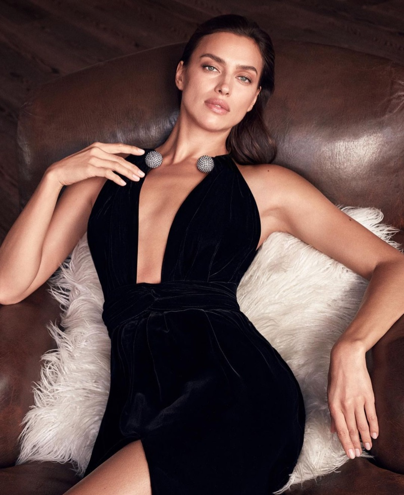 Model Irina Shayk named Oscar de la Renta Alibi fragrance face.